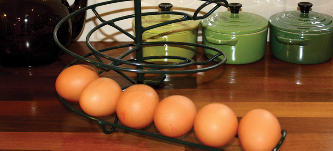 The Egg Skelter in Aga Green