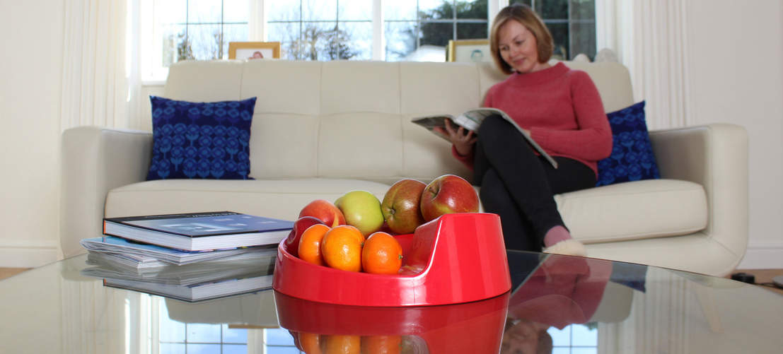 This fruit bowl looks great on display in any room