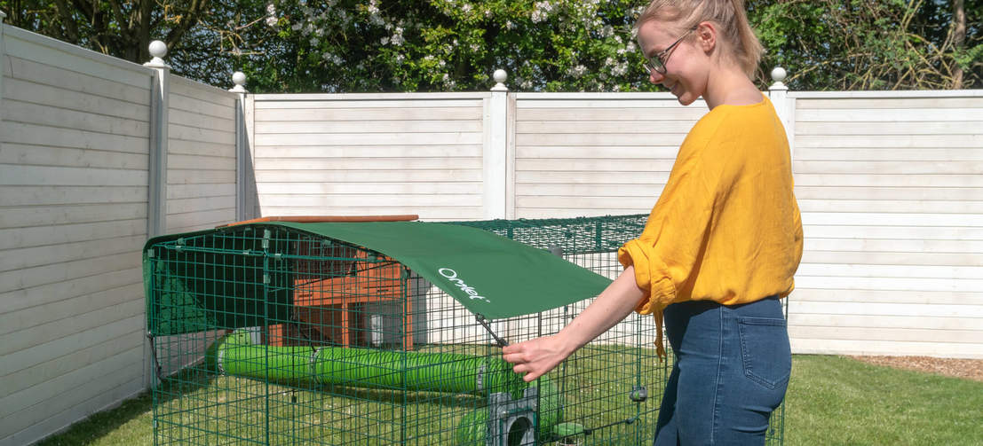 Zippi run covers are tailor made to provide shade and protection from the elements all year round.