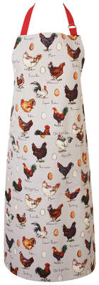 Madeleine Floyd Chicken and Egg Cotton Apron
