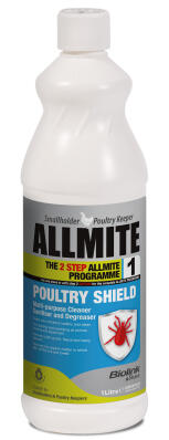 Biolink Poultry Shield Cleaner Concentrate - 1L