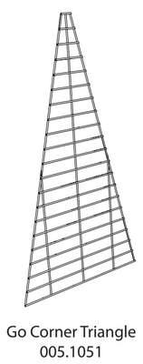 Eglu Go Run - Panel Corner (005.1051) - 2m