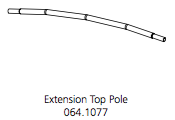 Cube Mk2 Extension Pole Top (064.1077)