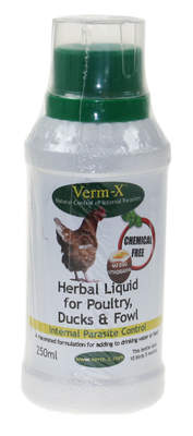 Verm-X Herbal Liquid for Chickens 250ml