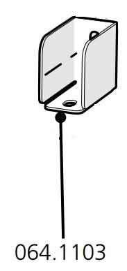 Cube Mk2 Bracket Partition (064.1103)