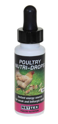 Nettex Poultry Nutri Drops - Fast Acting