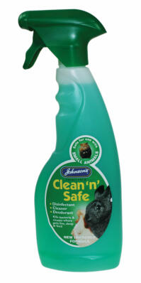 Johnsons Clean 'n' Safe Reiniger und Desinfektion