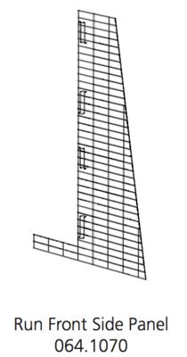 Cube Mk2 Run Panel Front Half (064.1070)