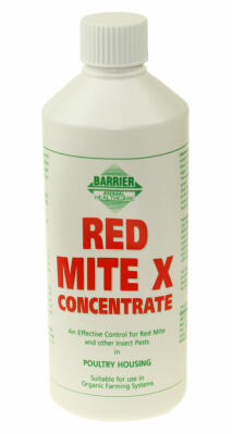 Concentré anti poux rouges - Barrier - 500ml