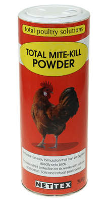 Nettex Total Mite Kill Powder - 300g