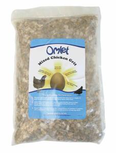 Omlet Mixed Chicken Grit 1.25KG Bag