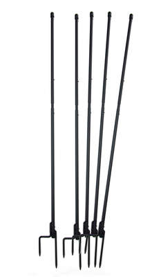 Omlet Chicken Fencing Poles - Mk2 - Set of 5