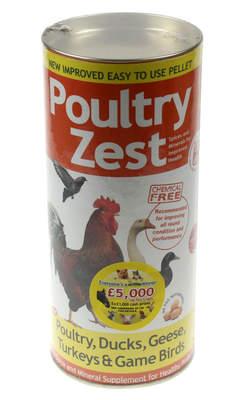 Verm-X Poultry Zest Pellets 500g