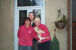 The Host Team (Roz, Andy & Sue)