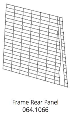Cube Mk2 Run Panel Frame Rear (064.1066)