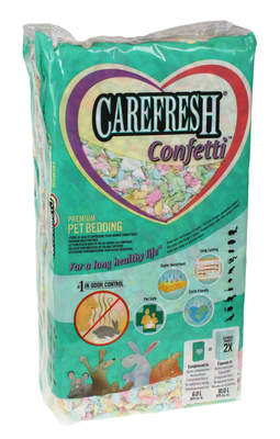 Lettiera per piccoli animali Carefresh 10L - Coriandoli