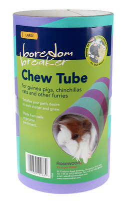 Large Chew Tube for Guinea Pigs