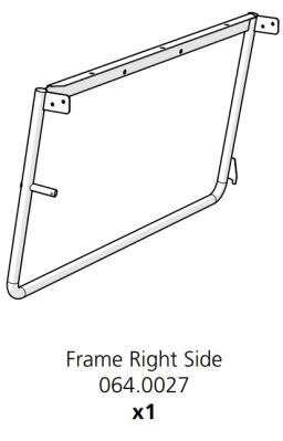 Cube Mk2 Frame Side Right Assembly (064.0027)