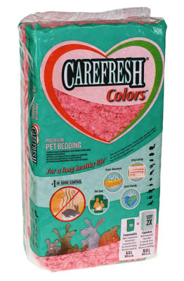Carefresh djurströ 10L - Rosa