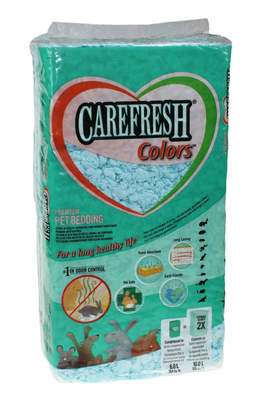 Lettiera per piccoli animali Carefresh 10L - Blu