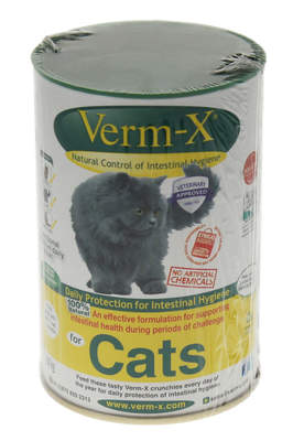Verm-X Herbal Crunchies for Cats 60g