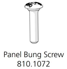 Panel Bung Screw Ø8x25mm White (810.1072.0001)