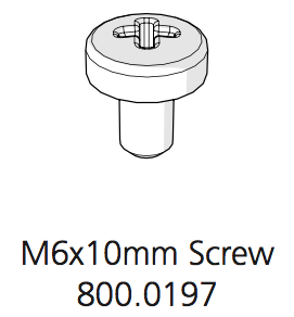Cube Mk2 Machine Screw Pozi Pan Zinc Plated Steel M6 x 10 (800.0197)