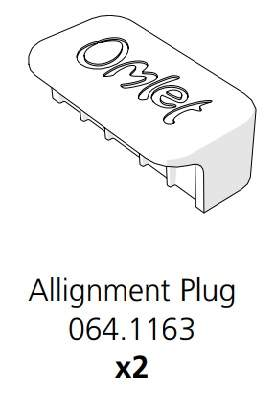 Cube Mk2 Frame Alignment Plug (064.1163)