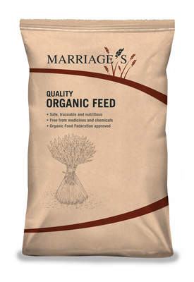 Marriage's Organic Mixed Corn - 20kg