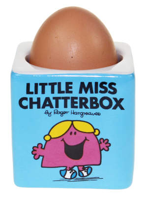 Eierdop - Mr Men Little Miss Chatterbox