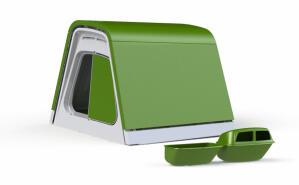 Eglu Go Chicken Coop with Accessories - Leaf Green