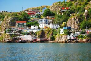 The home of the Newfoundland dog