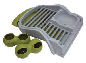Eglu Classic Converter Kit - Rabbit to Chicken - Green