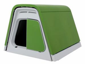 Kaninburen Eglu Go med tillbehör - Grön