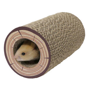 Boredom Breaker Chew Tube Shred A Log Corrugated Tunnel