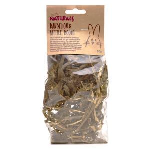 Naturals Dandelion & Nettle Roots 50g