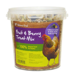 Natures Grub Fruit & Berry Treat Mix - 1.2kg