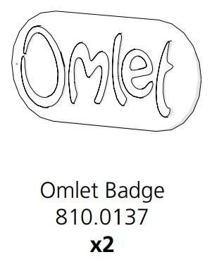 Cube Mk2 Omlet Badge (810.0137)