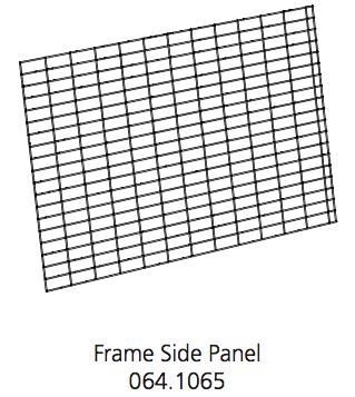 Cube Mk2 Run Panel Frame Side (064.1065)
