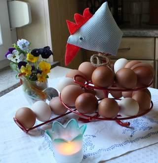 frische Eier immer im Überblick, mit der EIERSPIRALE !