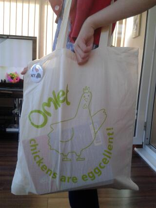 great shopping bag and also a great school bag