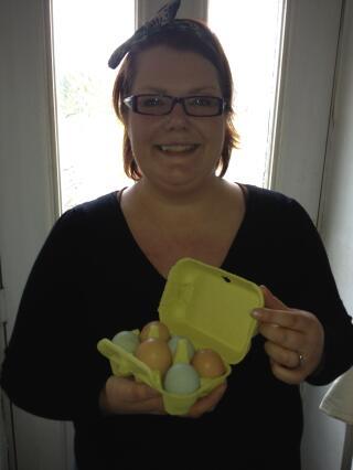Lovely eggs deserve lovely egg boxes!