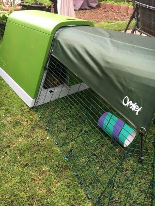 Gut geschützt vor Wind und Wetter im neuen Stall!