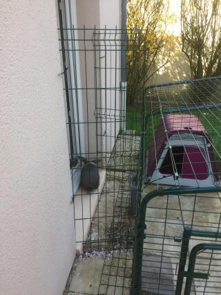 Enclos pour lapins
