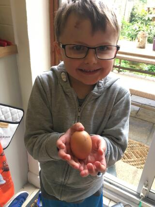 Our First Egg