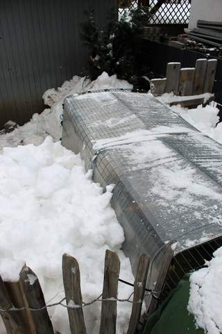 Eglu Cube snow