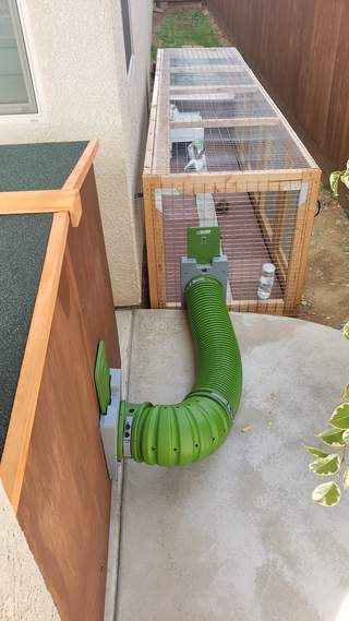 2 Story Hutch to 12ft Bunny Run