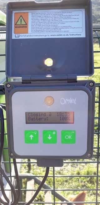 Panneau de commande porte automatique