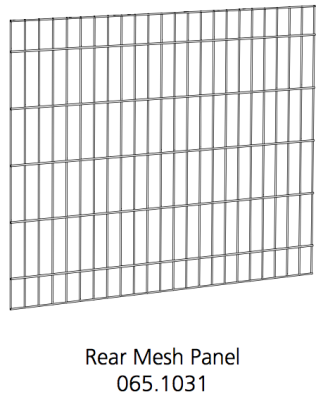 Better Crate Mesh Panel Rear 36 (065.1031)