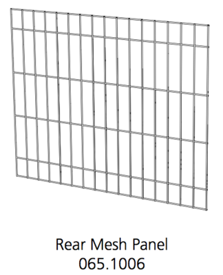 Better Crate Mesh Panel Rear 24 (065.1006)